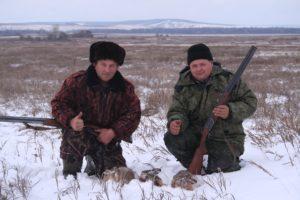 Удачная зимняя охота