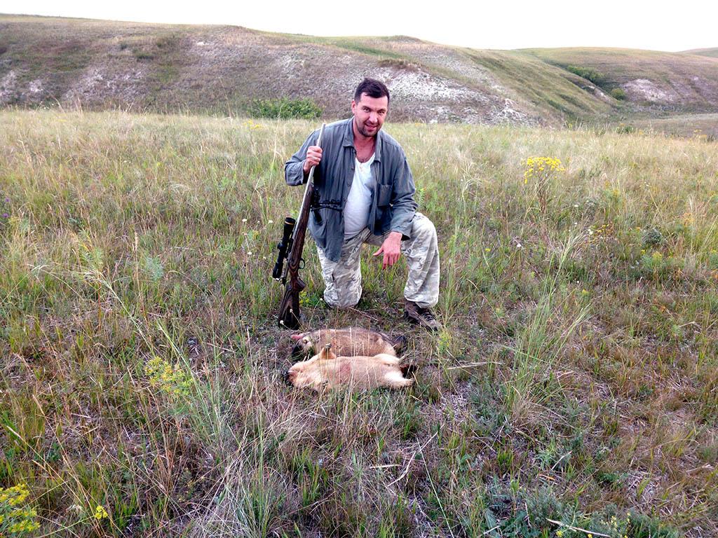 Сурок. Охота в Самарской области