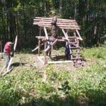 охота на кабана с вышки 2019