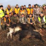 охота на лося 2019